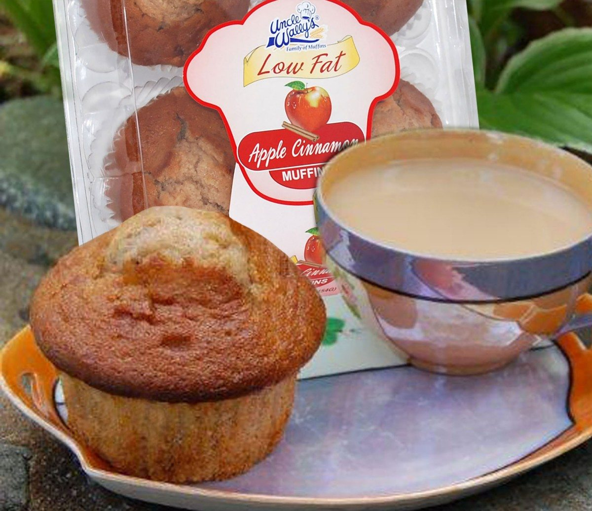 Apple Cinnamon Low Fat Muffins