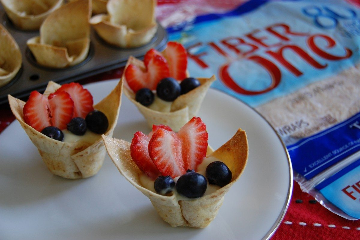 fruit tart fruits with fiber