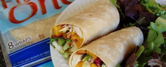 Asian-Chicken-Wrap