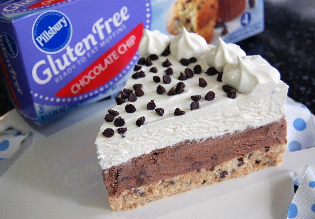 Pillsbury Gluten Free ice-cream-cake-slice
