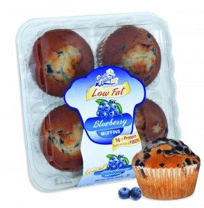 Low Fat Bluberry muffins