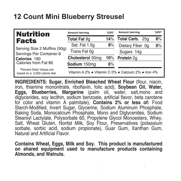 12 count blueberry